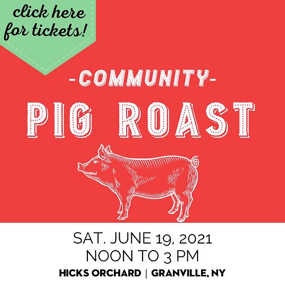 Pig Roast and Cider Fest (aka Slyboro Spring Open!)