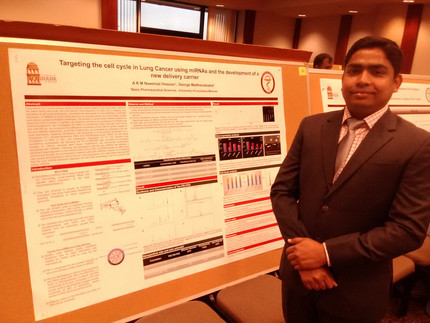 Congratulations to Nawshad. In just two months and already had his first poster. Excellent work.