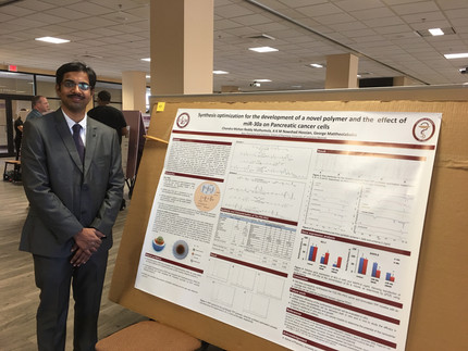 Congratulations to Mohan, for presenting his work at ULM symposium. Great job!!