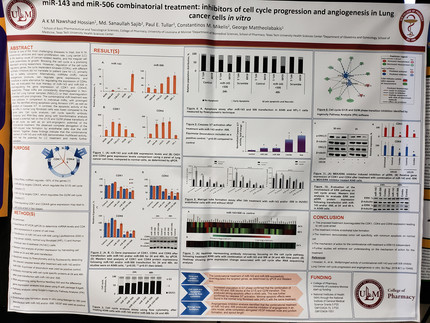 Our Lab participated with 3 posters at the LBRN Annual meeting in Baton Rouge