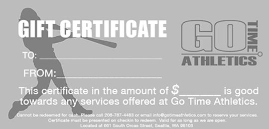 Go Time Athletics Gift Certificate Web.j