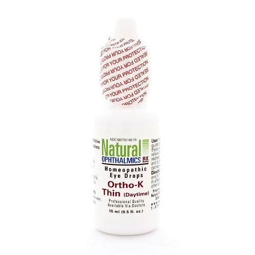 Ortho-K Thin (Daytime) Eye Drops by Natural Ophthalmics