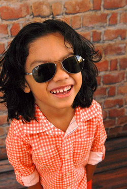 Our son, Dahani rocking some Ray Bans!