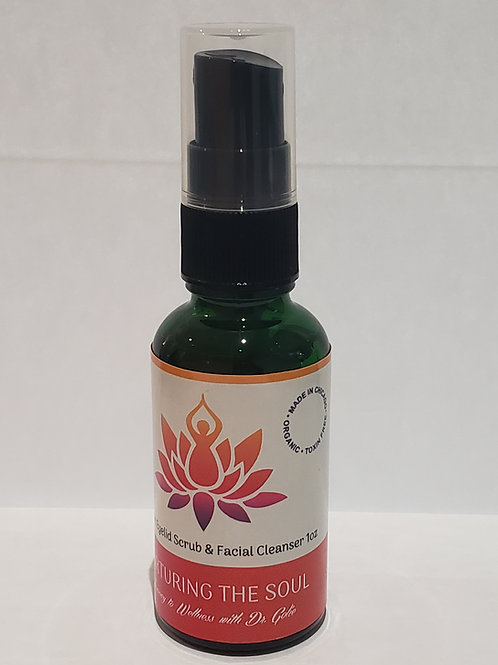 Organic Lid Scrub  & Facial Cleanser 1oz