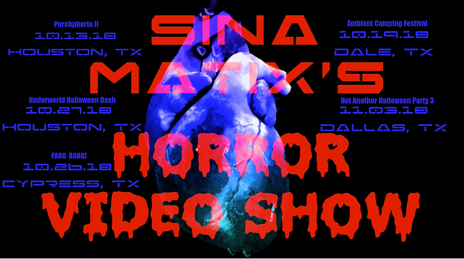 SM Horror Show with Dates flyer V3 09.25