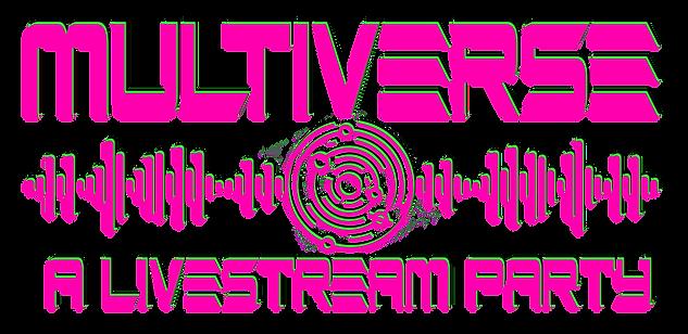 Multiverse Logo 2020 Pink Green Black Cl
