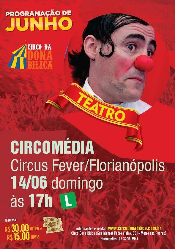 palhaço circo da dona bilica