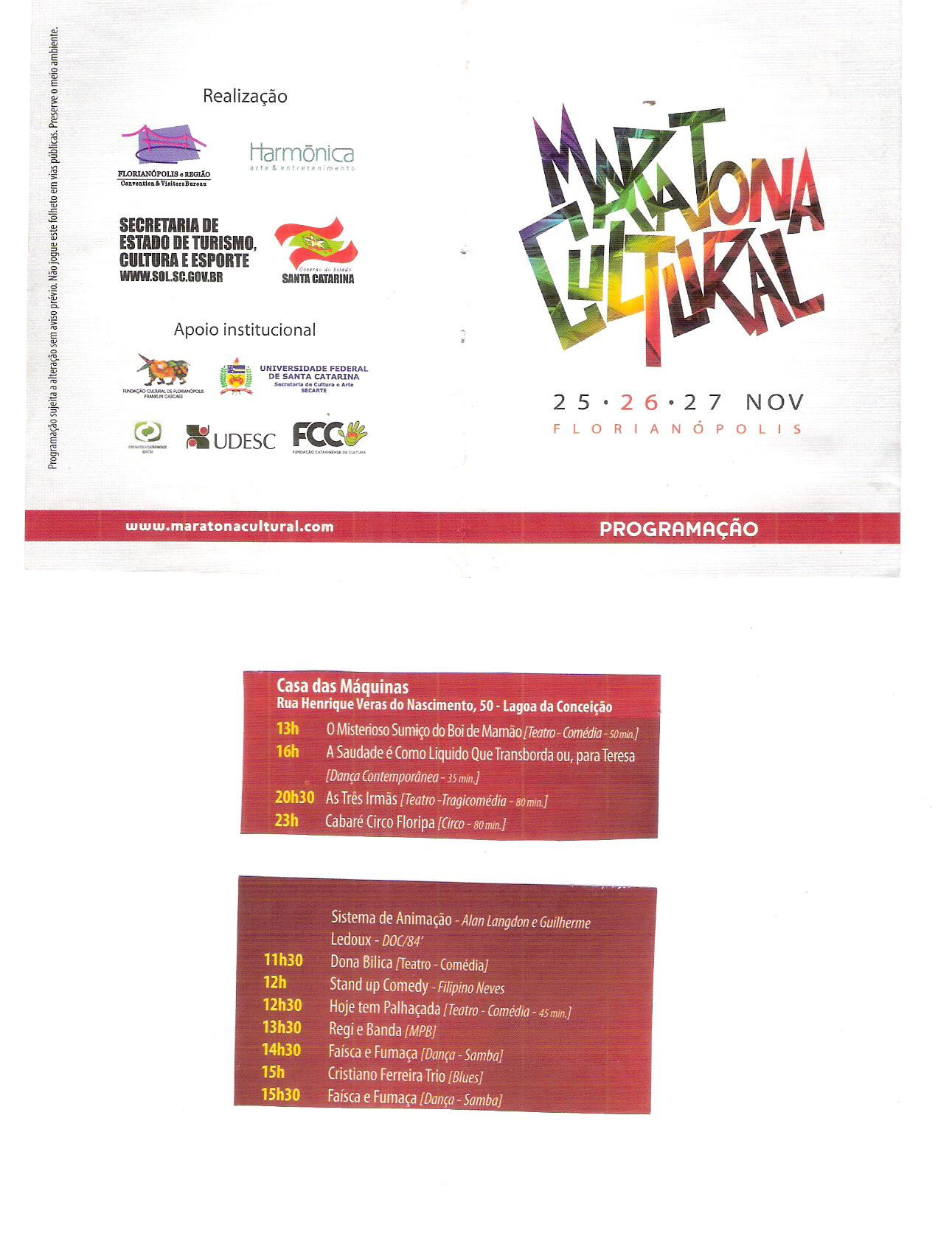 Maratona Cultural 2011