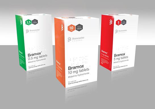 Bramox® tablets (midodrine hydrochloride)