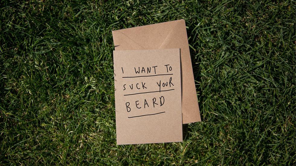 Suck your beard