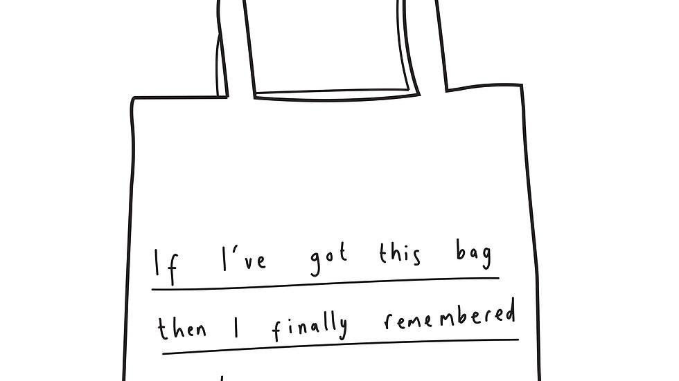 Remembered my bag tote