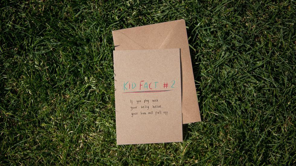 Kids Fact #2 - Belly Button