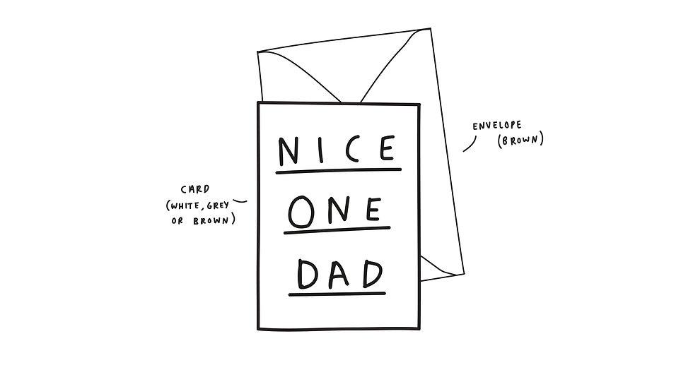 Nice one dad