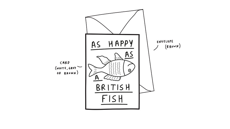 As happy as a British fish