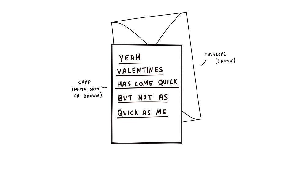 Valentines has come quick