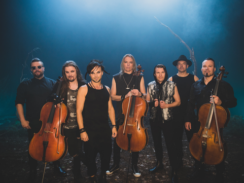 The Rasmus Release Video For New Single 'Venomous Moon' Featuring Apocalyptica