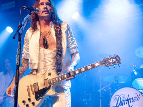 The Darkness - Rock City, Nottingham 29.11.2019
