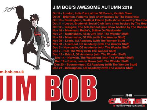 JIM BOB - The Arts School, Glasgow 12.10.2019