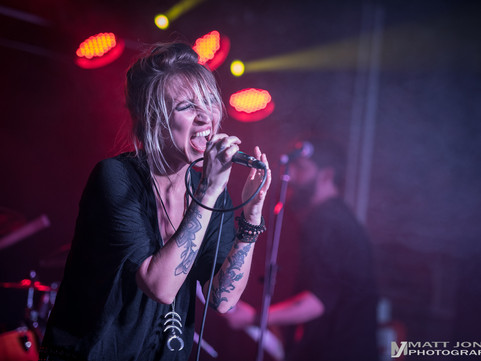 Fire Red Empress - The Slade Rooms, Wolverhampton 18.01.2018