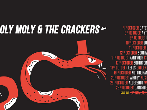 Holy Moly And The Crackers - Sage 2, Gateshead 04.10.2019