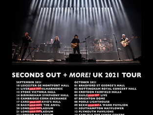 Spotlight: Steve Hackett Takes 1977 Live Album 'Seconds Out' On The Road