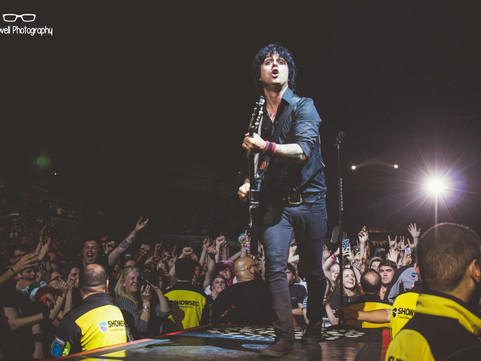 Green Day - Sheffield Arena 03.07.2017