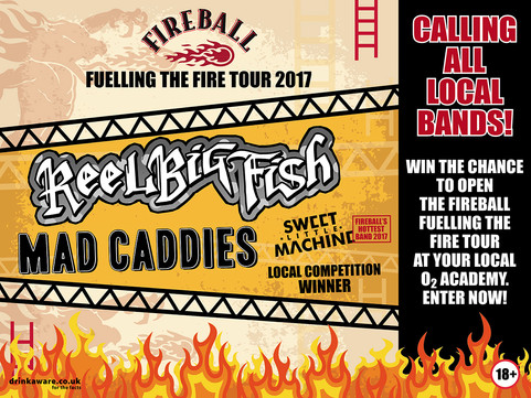 'Fireball's Hottest Band' Competition Returns For 2017 – Enter NOW