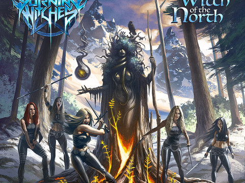 Burning Witches – 'The Witch Of The North' Album Review