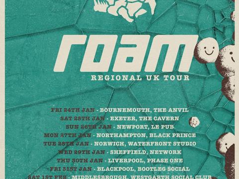 ROAM - The Basement, York 03.02.2020
