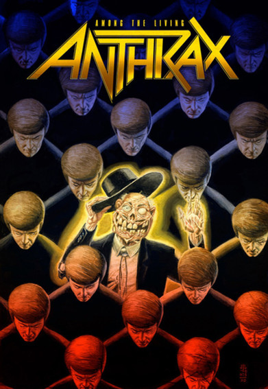 Anthrax - 'Among The Living' Graphic Novel Review