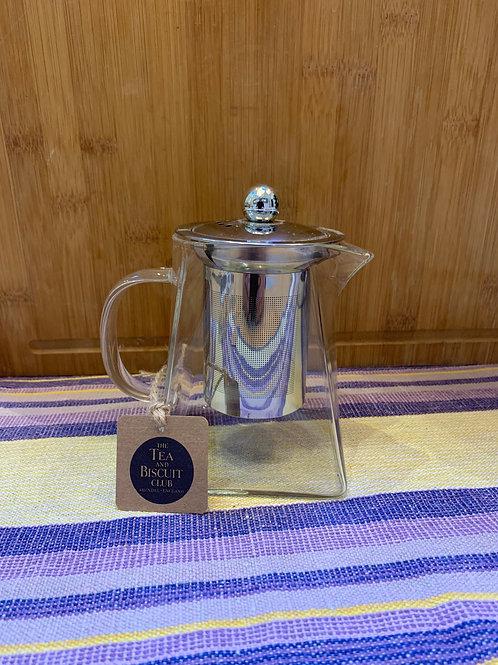 Small Square Glass Teapot