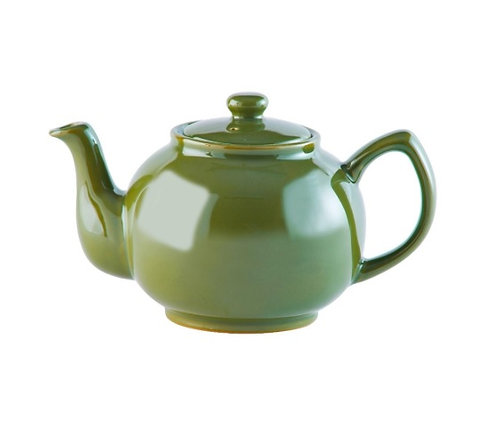 6 cup Teapot - Olive Green