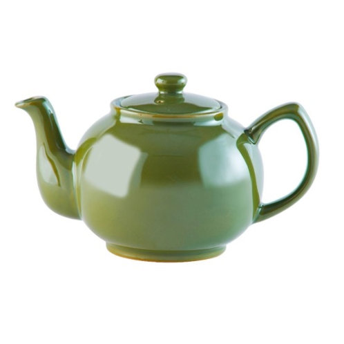2 cup Teapot - Olive Green