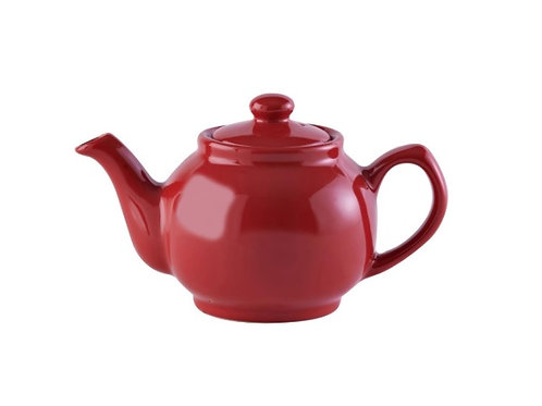 2 cup Teapot - Bright Red