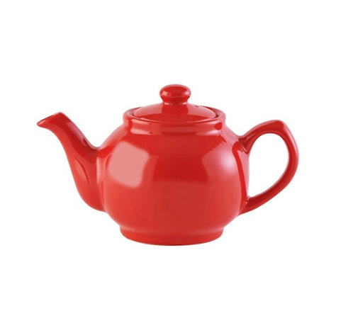 2 cup Teapot - Bright Coral