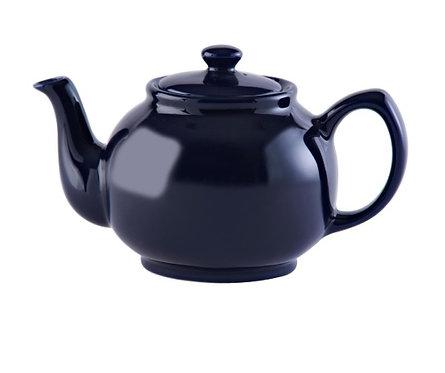 6 cup Teapot - Midnight Blue