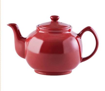 10 cup Teapot - Bright Red