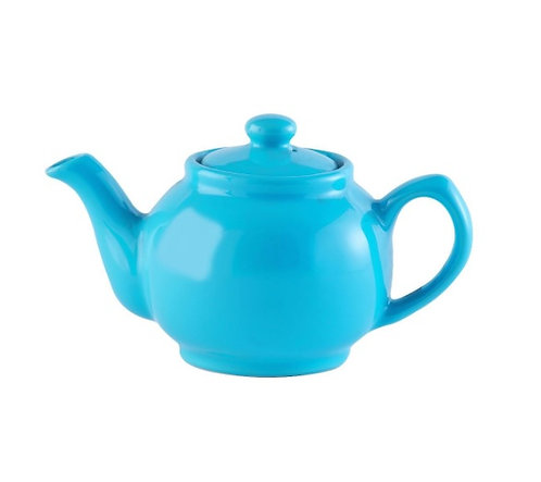6 cup Teapot - Bright Blue