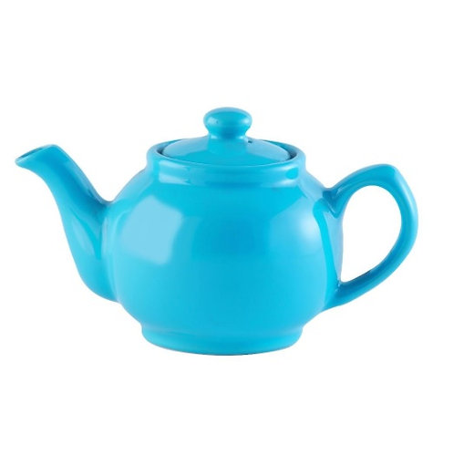 6 cup Teapot - Bright Blue