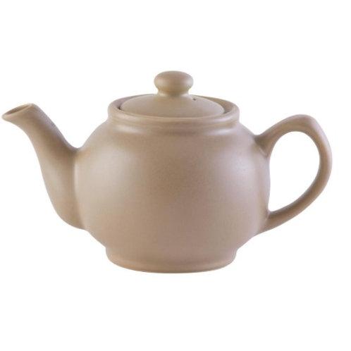 2 cup Teapot - Matt Taupe