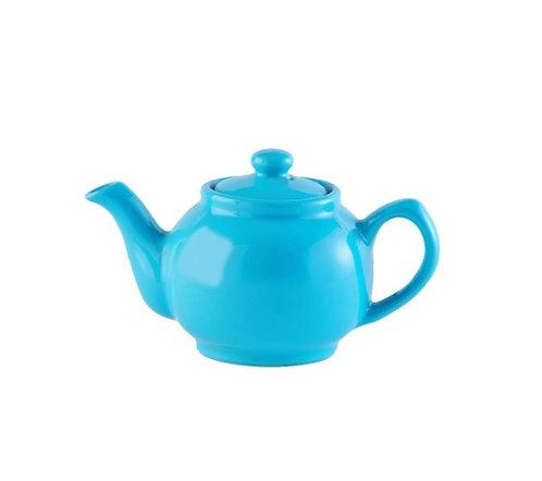 2 cup Teapot - Bright Blue