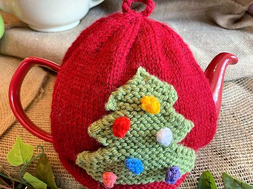 Christmas Tree & Snowman Tea Cosy