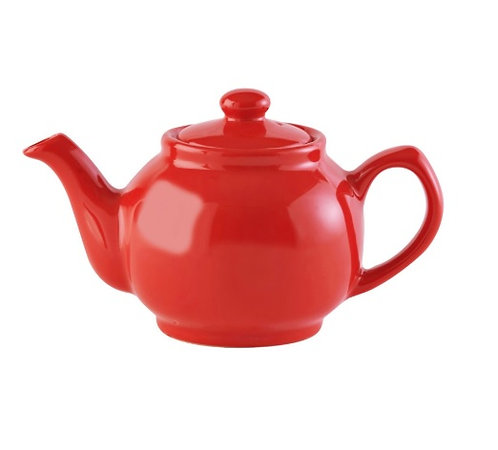 6 cup Teapot - Bright Coral
