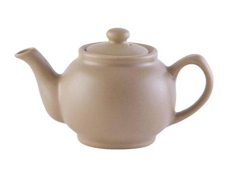 6 cup Teapot - Matt Taupe