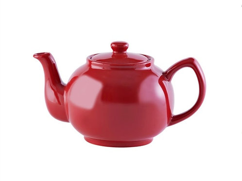 6 cup Teapot - Bright Red