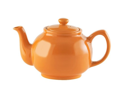 6 cup Teapot - Bright Orange