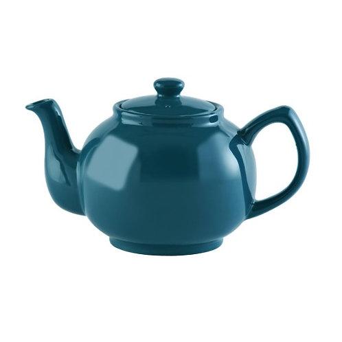 6 cup Teapot - Teal Blue