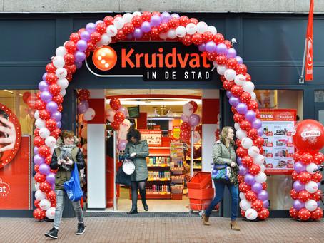 De eerste stadswinkels van Kruidvat!