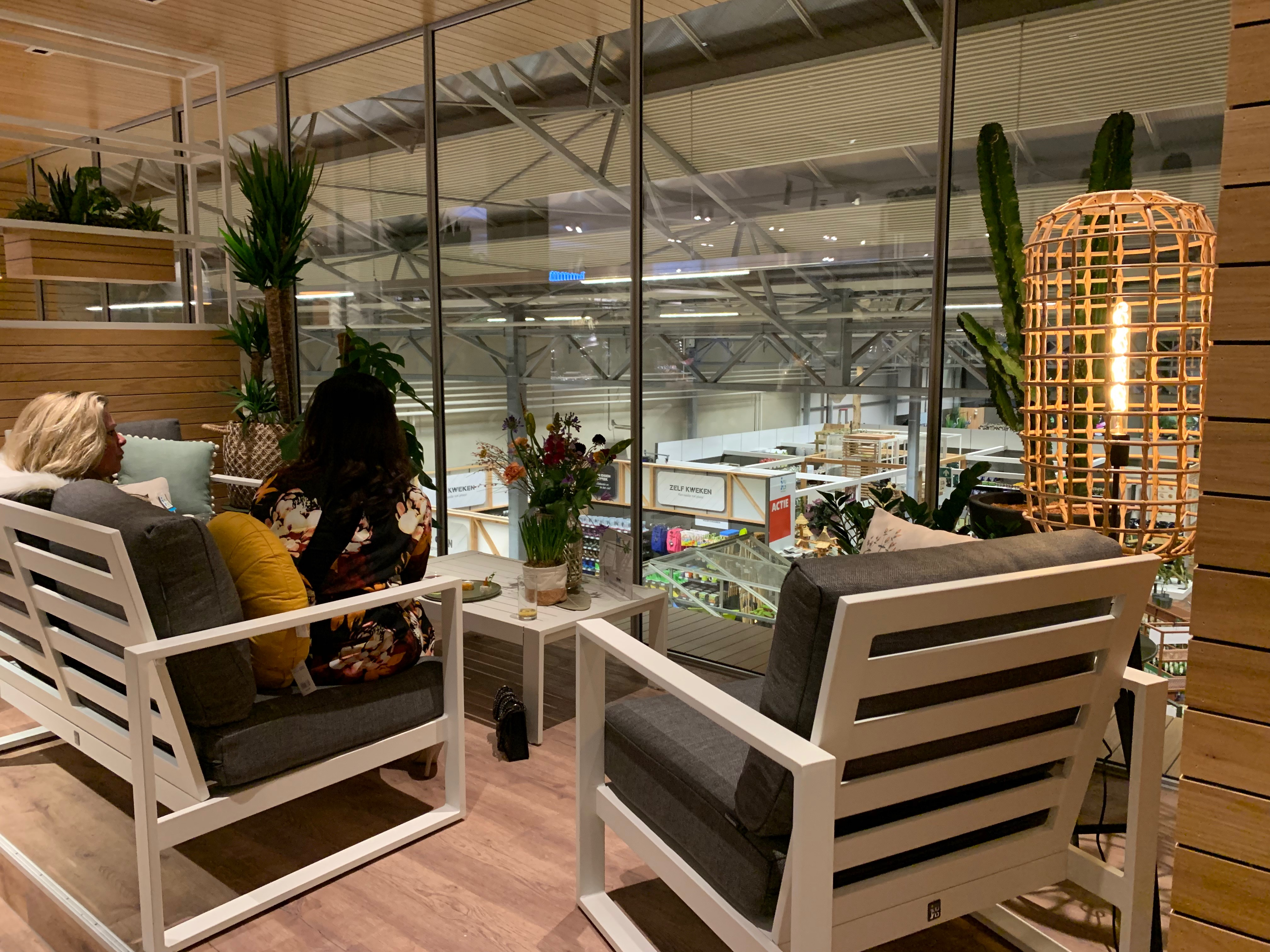 Garden center interior design