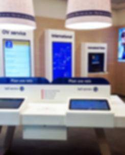 OV servicewinkel design